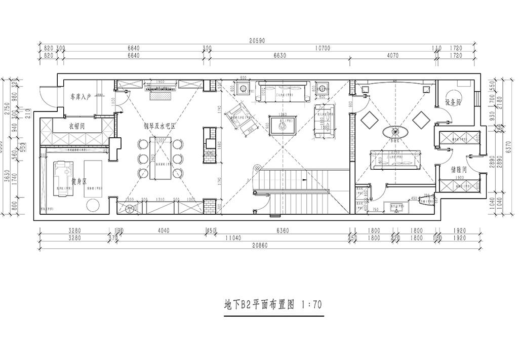龙湖好望山-新中式-450㎡装修设计理念
