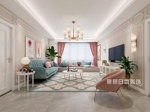 入住新房啦!东易日盛145平米轻奢三居室装修案例