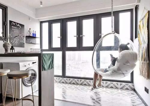 阳台客厅一体装修,直接打通太舒适了-深圳家装公司排行榜