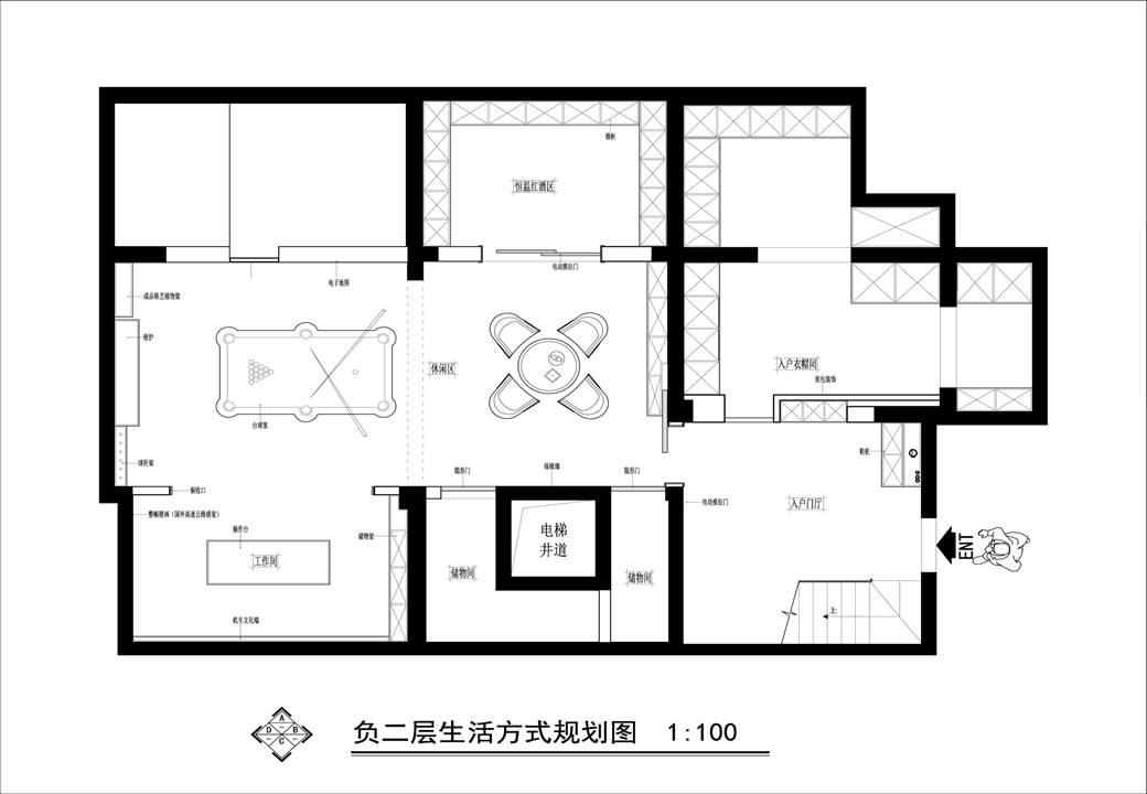 林溪湾现代都市风格680㎡联排别墅装修设计理念