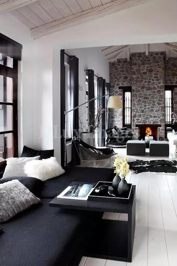 现代摩登家居,永恒的黑色经典(图4)