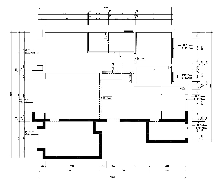 远洋琨庭-现代轻奢性状style-145m/2装潢策划愿景