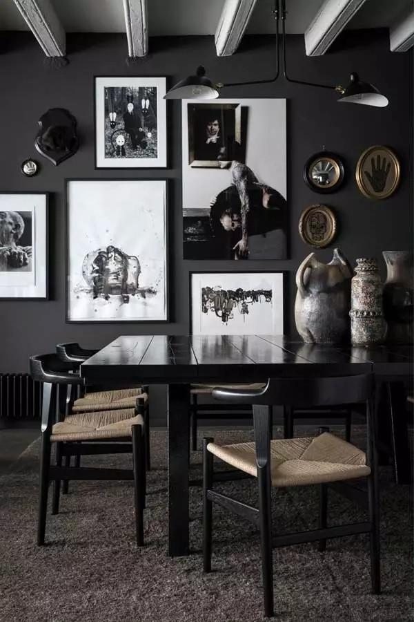 现代摩登家居,永恒的黑色经典(图5)