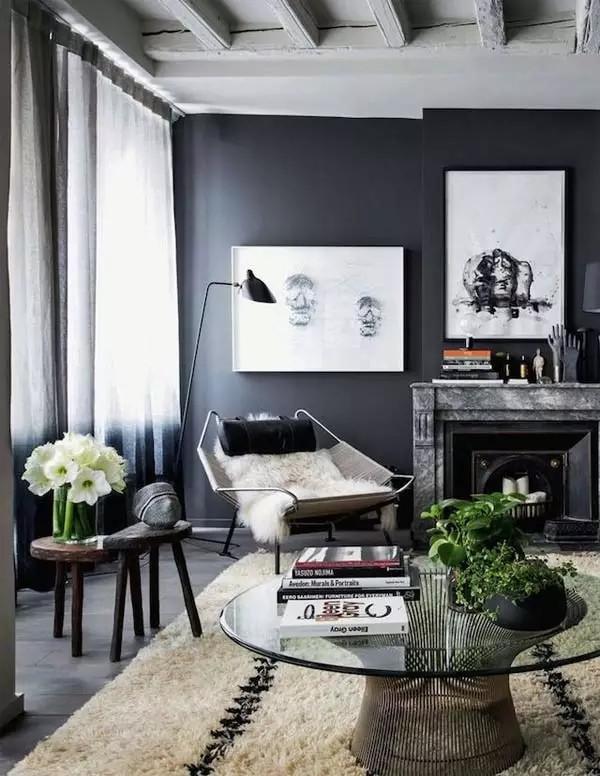 现代摩登家居,永恒的黑色经典(图6)