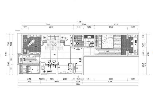 首尔甜城-132平米-北欧装修设计理念