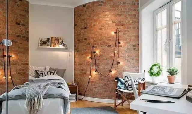 砖墙装修效果图,砖墙也可以这么美