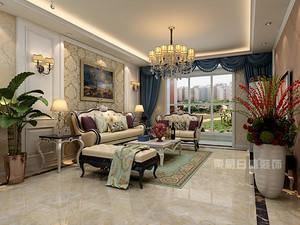 简欧风格装修,137平米三居室装修设计