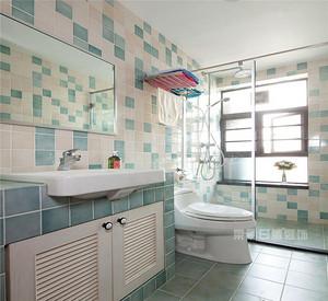 仿古砖适合安装在卫生间吗?卫生间选择瓷砖需要注意什么?