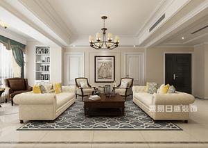 尚海郦景 195平 四室两厅 美式风格户型解析 户型解析