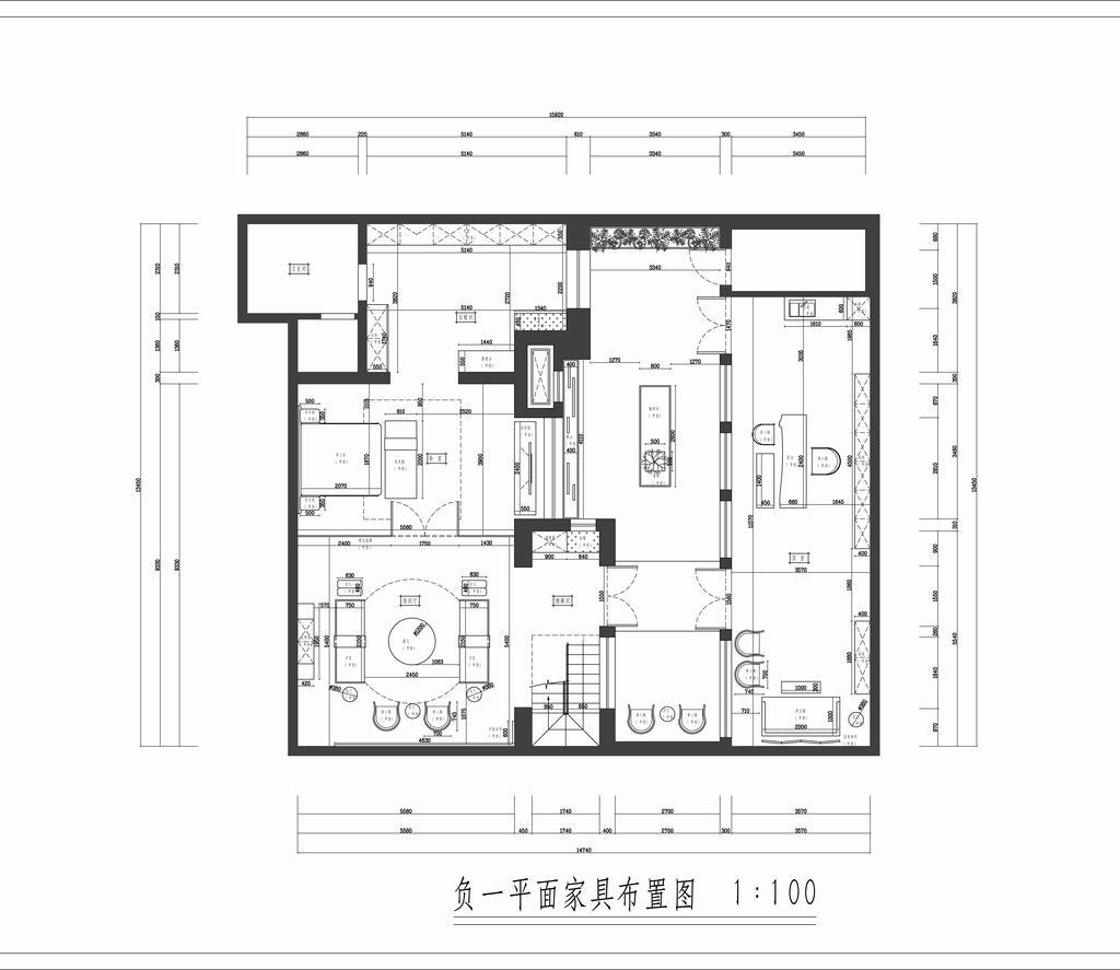 御翠尚府-新中式装修风格-280平米装修设计理念