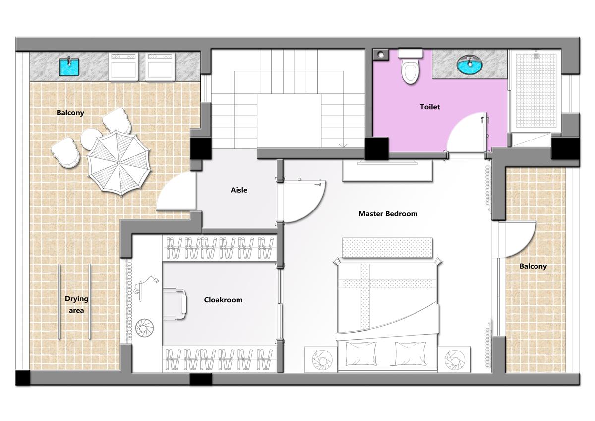 万科蓝山276平叠加别墅欧式古典风格装修装修设计理念