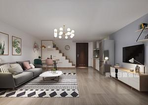 九十平米房子装修北欧风格,实景图简直美一脸好嘛!