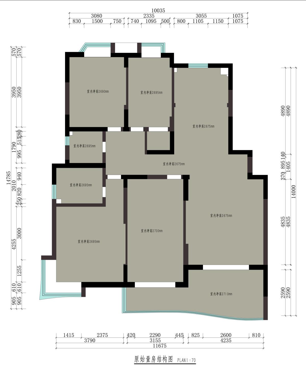 御道家园145㎡-新中式装修设计理念