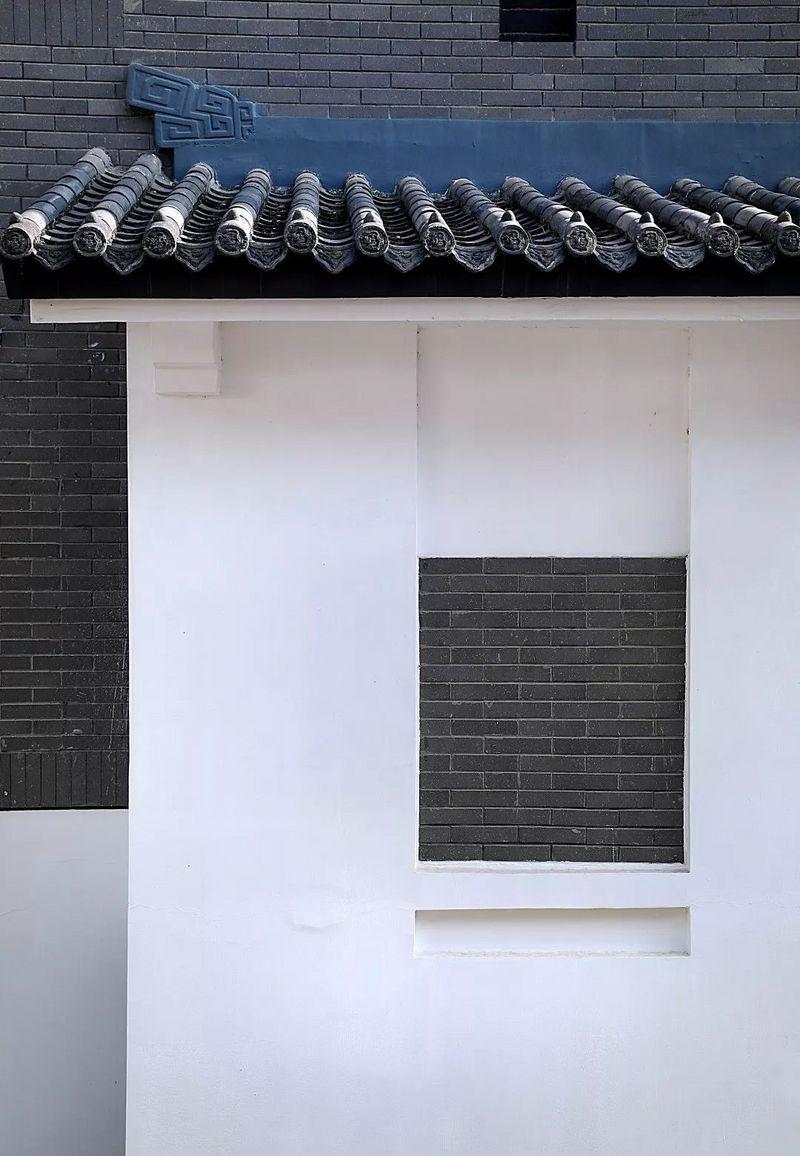 中国院子独栋别墅装修实景案例-大门