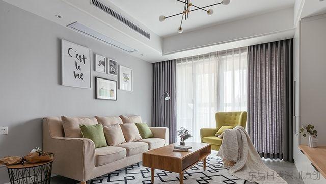 7款北欧风格客厅装修效果图,总有一款适合你-深圳别墅