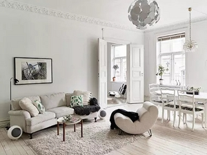 白色家居设计方案