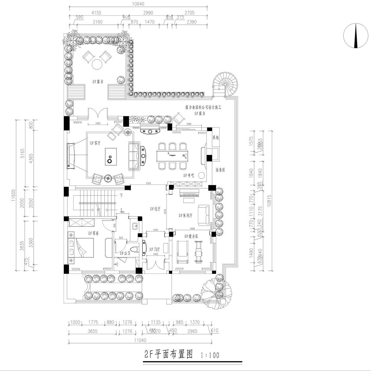 美式风格装修效果图丨麓山国际圣安德鲁480㎡别墅装修案例装修设计理念
