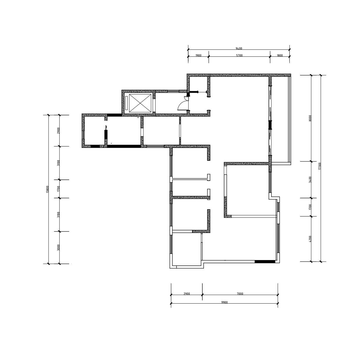 美式风格装修效果图丨复地金融岛204㎡五居室装修案例装修设计理念