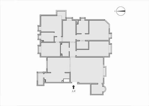 璟公馆-现代简约-210平米装修设计理念