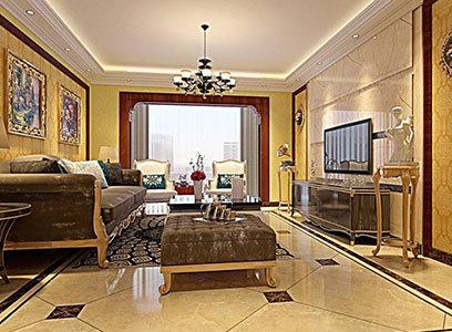 客厅地面用什么颜色的地板砖好?