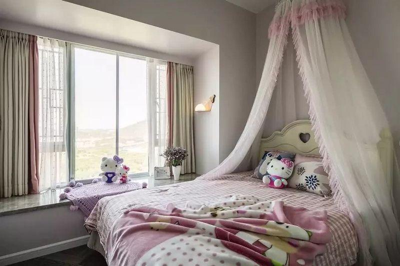 小户型卧室窗帘选择,想睡眠佳窗帘很重要-深圳装饰设计