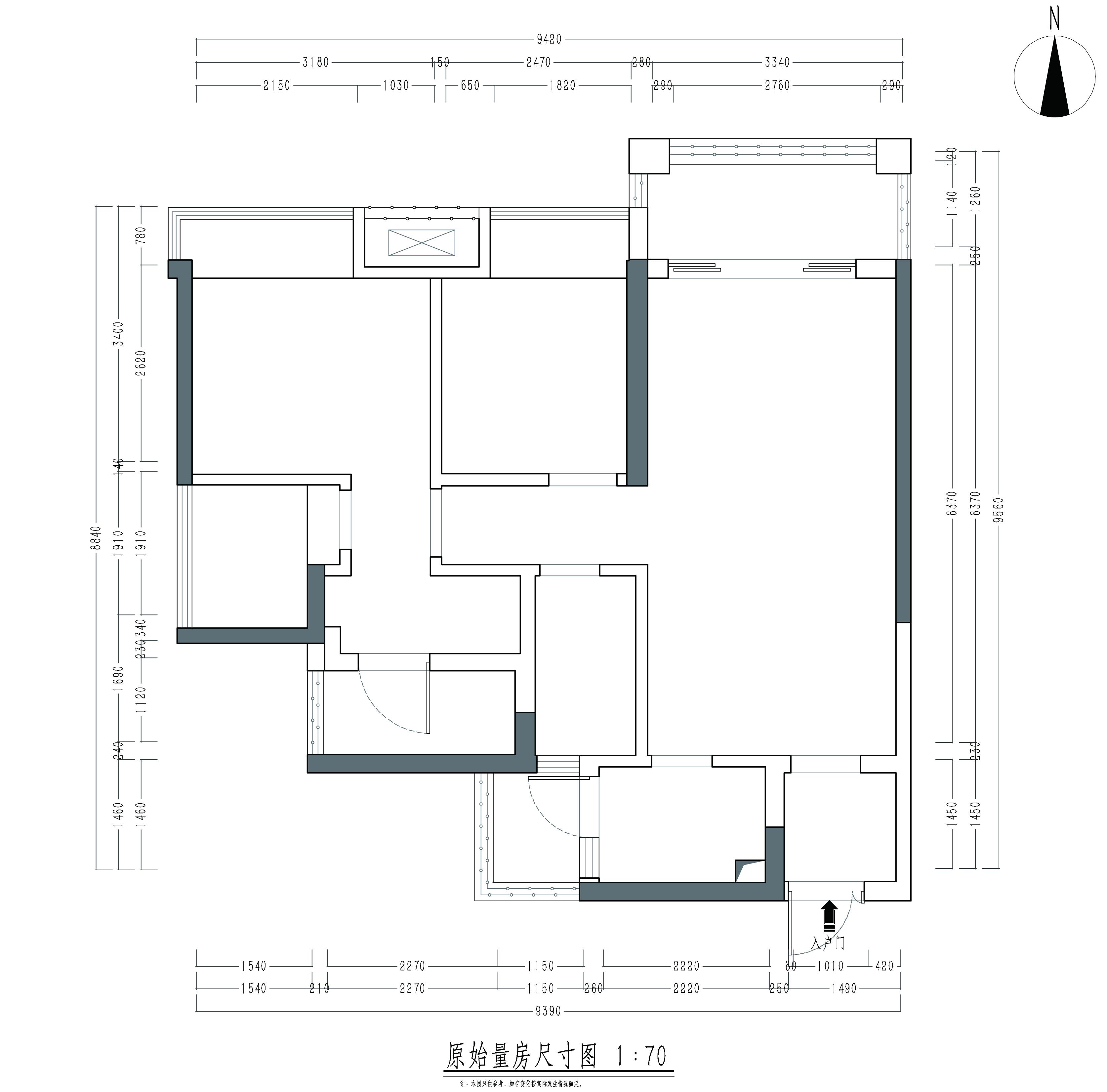 非凡领域简欧风格10座02户型90㎡装修效果图装修设计理念