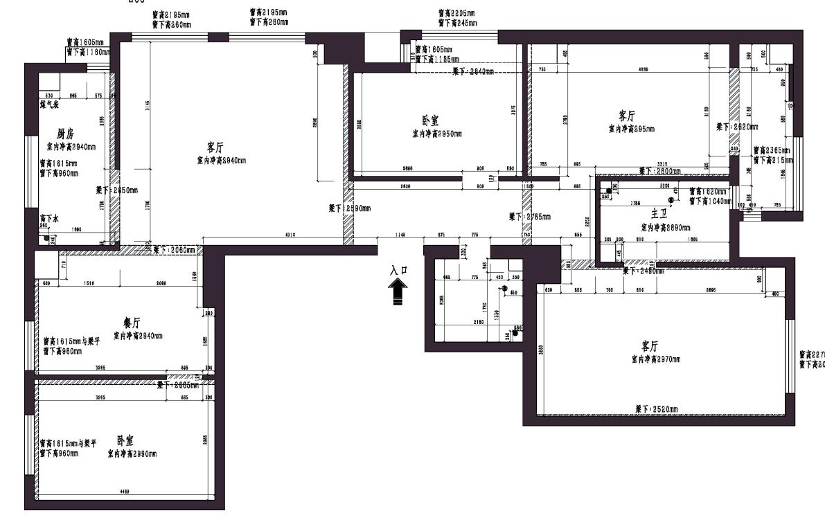 平阳景苑现代简约170平米装修效果图装修设计理念