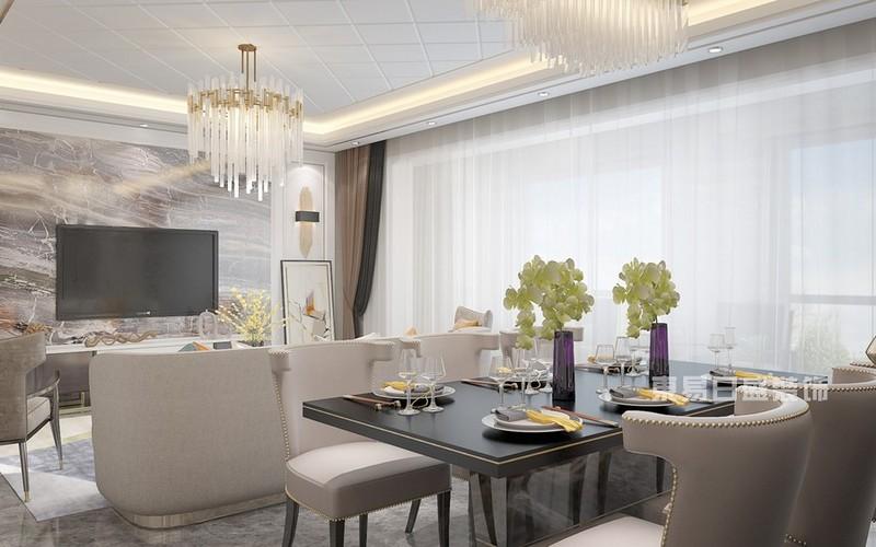 小户型简约风格家庭餐厅装修效果图适合小面积房子