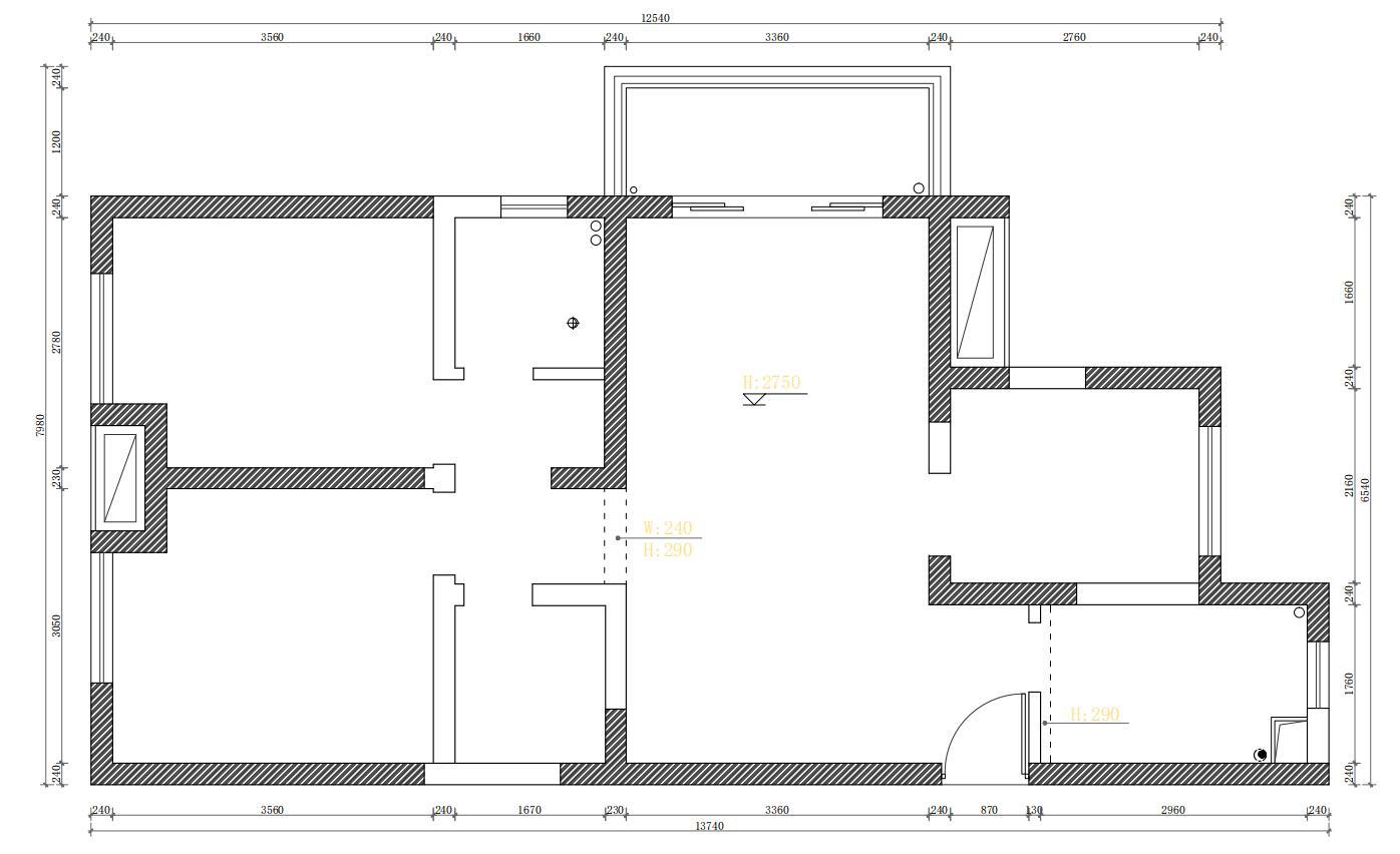 阳光城悦澜府-94㎡-北欧风格-装修案例效果图装修设计理念