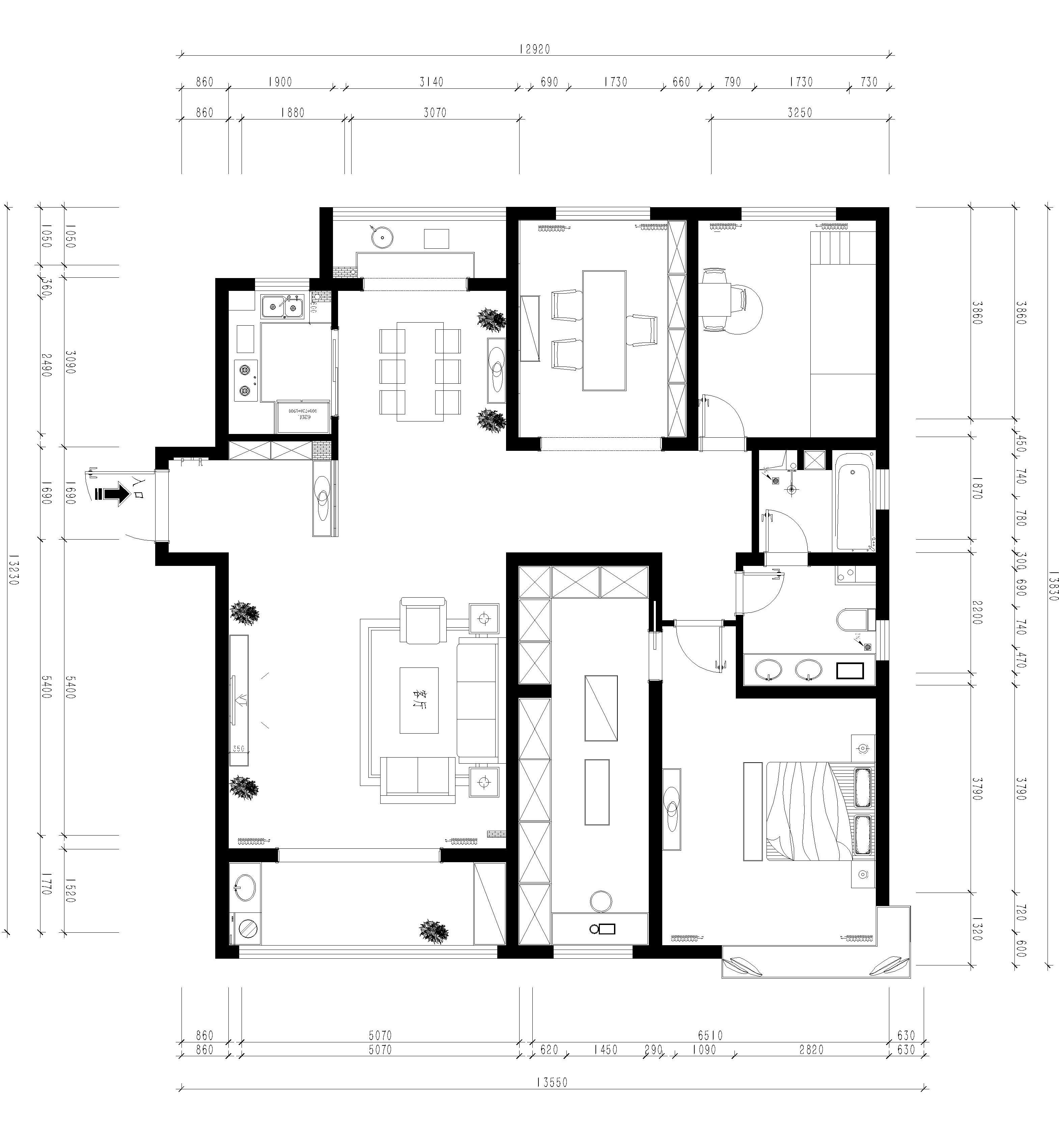 逸景湾 200m/2策划案例 中式装潢成果图装潢策划愿景