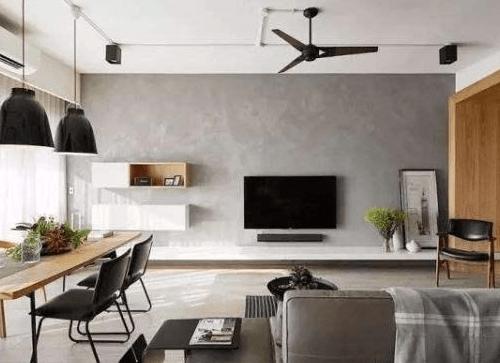 电视墙怎么装修不过时?流行的电视背景墙设计