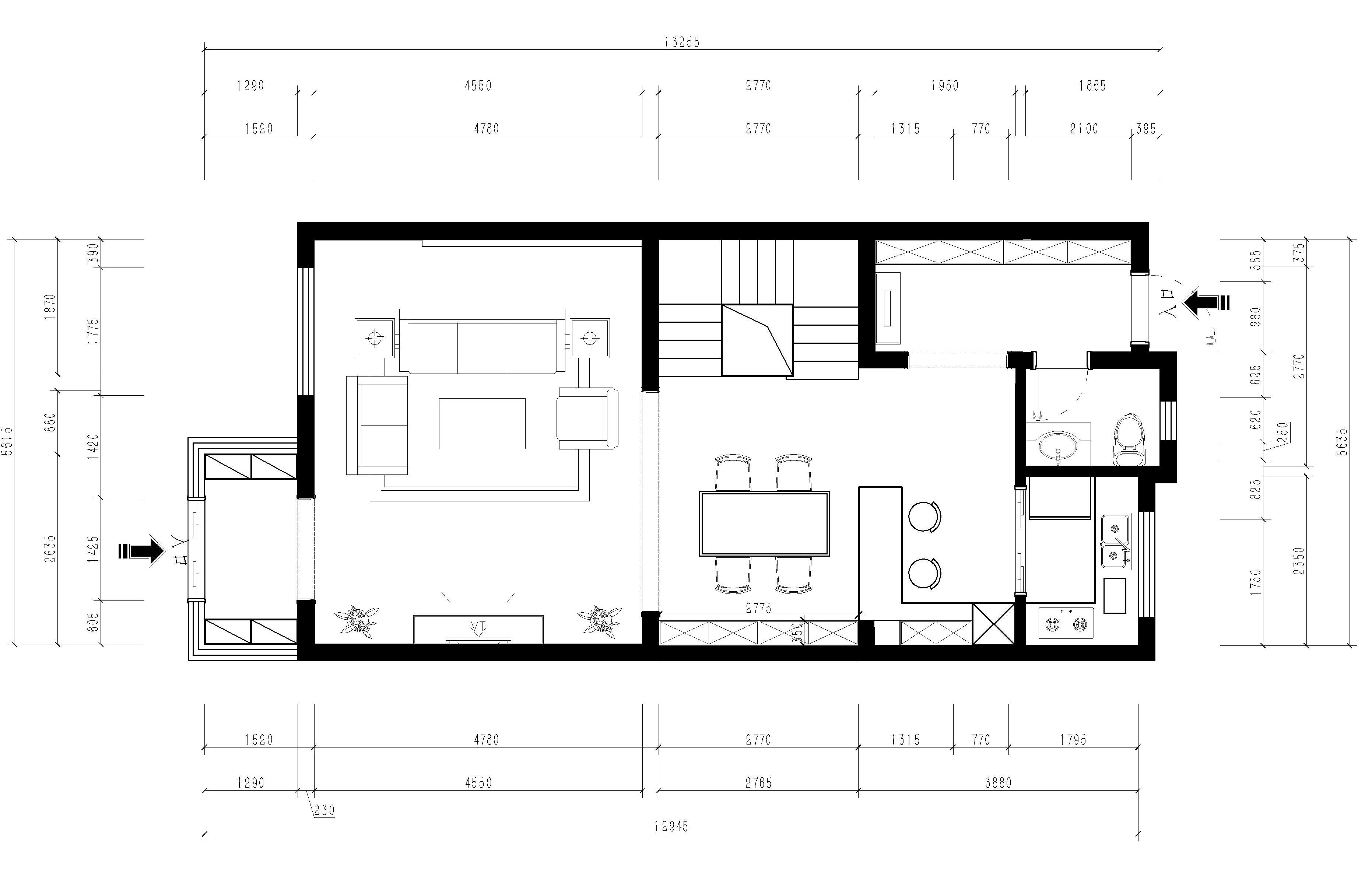 中德Green公圆 266m/2策划案例 新中式装潢成果图装潢策划愿景