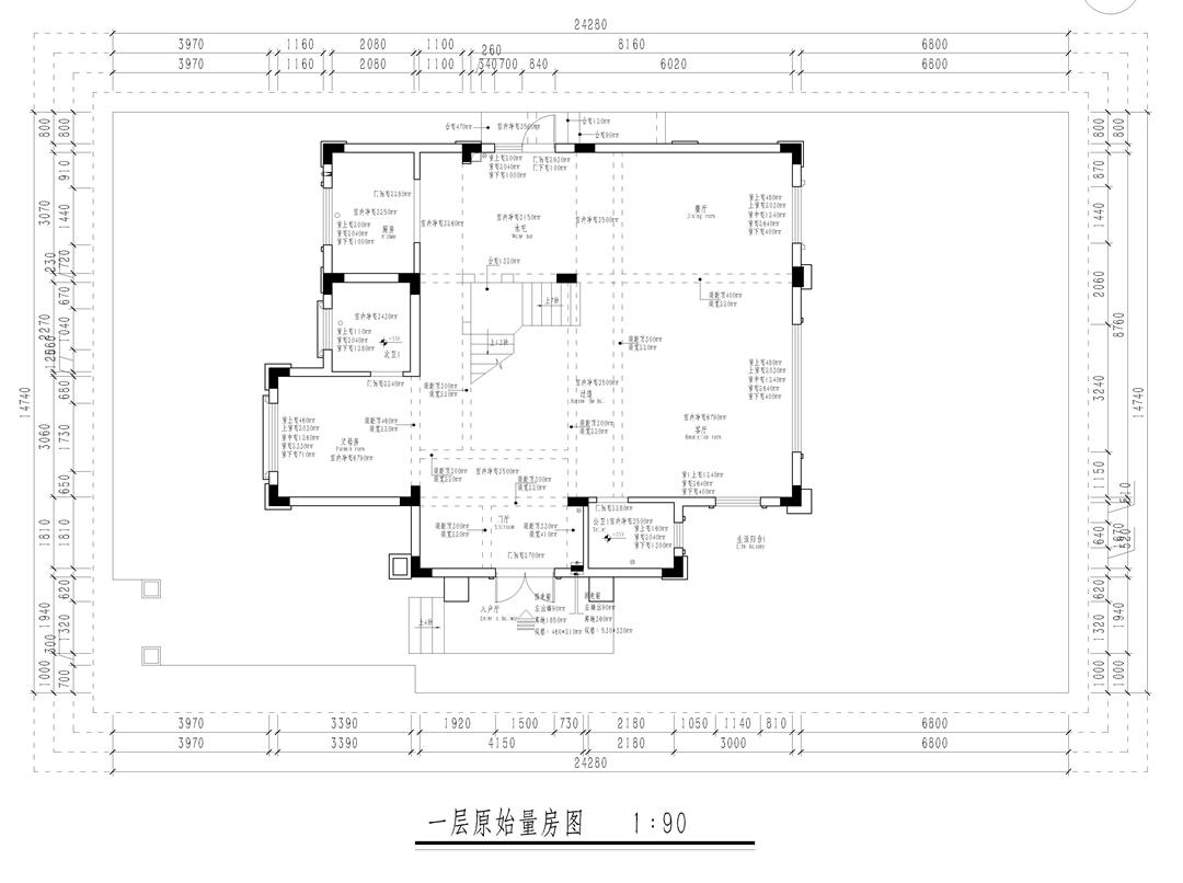 龙湖392平新中式风格别墅装修设计理念