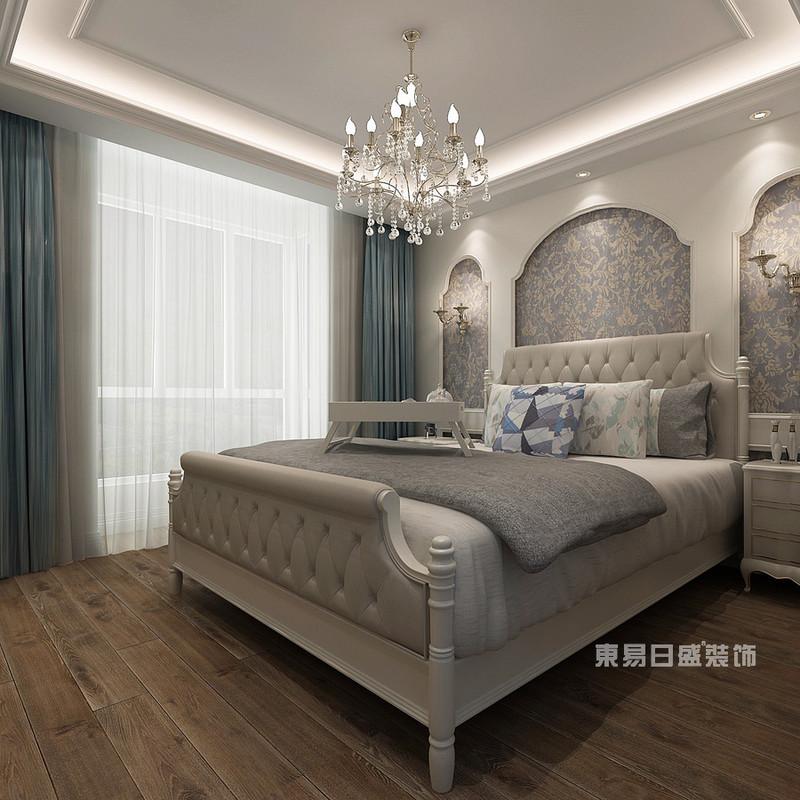 这样的欧式风格卧室装修效果图让你置身梦幻异域风情