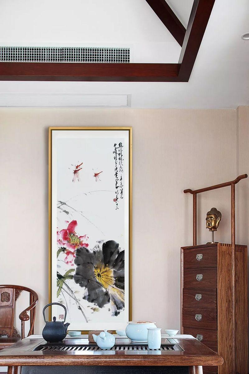 中国院子独栋别墅装修实景案例-书房