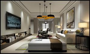 别墅装修全案设计之玄关装饰画的选择
