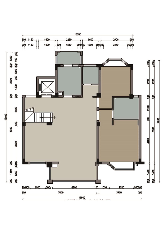 琅石名筑280平装修设计理念