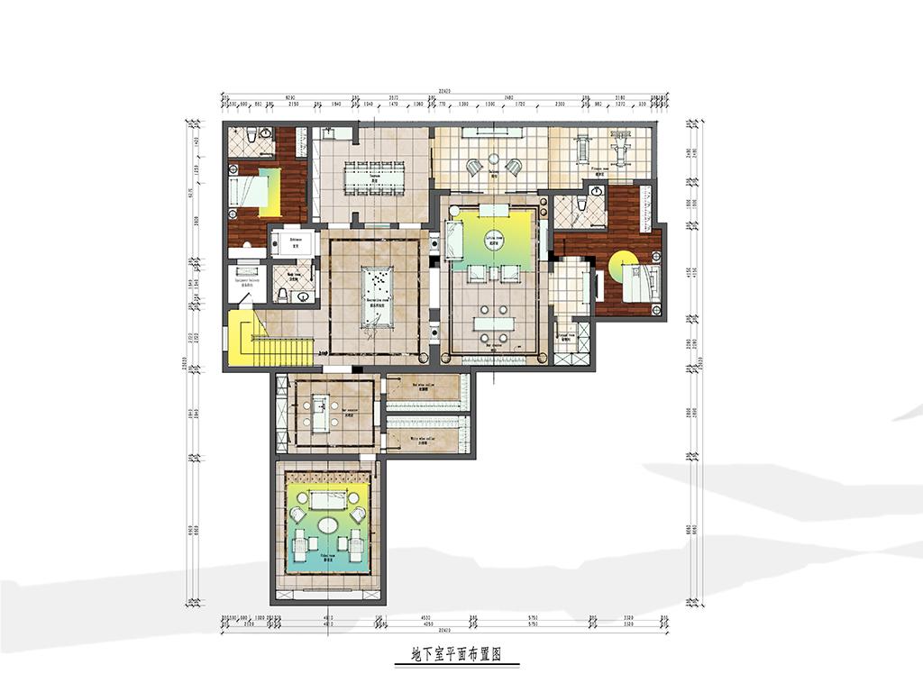 衢州龙游观澜壹号800m²——欧式古典风装修设计理念