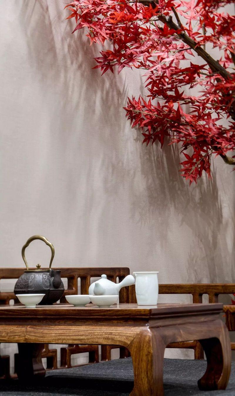 中国院子独栋别墅装修实景案例-起居室