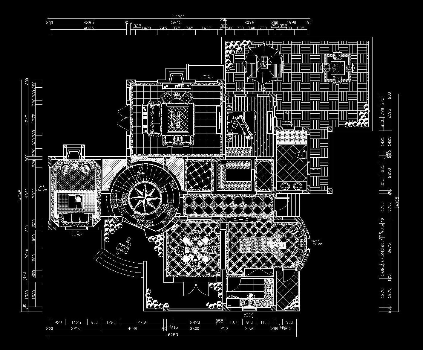 玛歌庄园--欧式风格-420平米装修设计理念