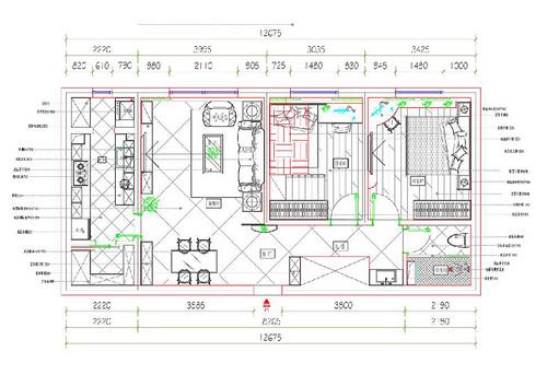 中信城-117平米-新中式装修设计理念