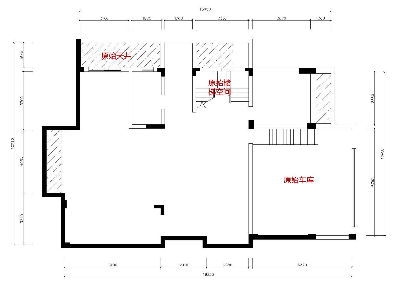 金辉•九纬 580平米美式风格装修效果图装修设计理念
