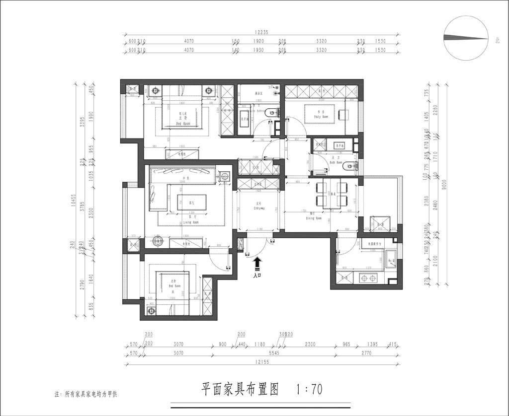 龙樾西山-118m/2-新中式性状style-装潢成果图装潢策划愿景