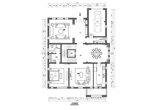中海尚湖-法式-500平米装修设计理念
