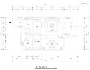 花山碧桂园跃层-美式风格-260平米户型