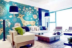 手绘背景墙带给你不一样的墙壁装饰风格