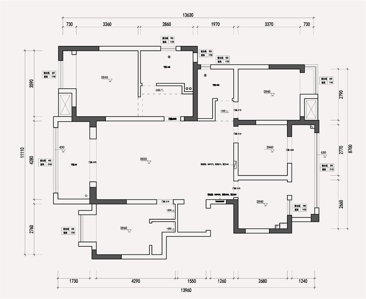 金浦御龙湾138㎡美式风格装修装修设计理念