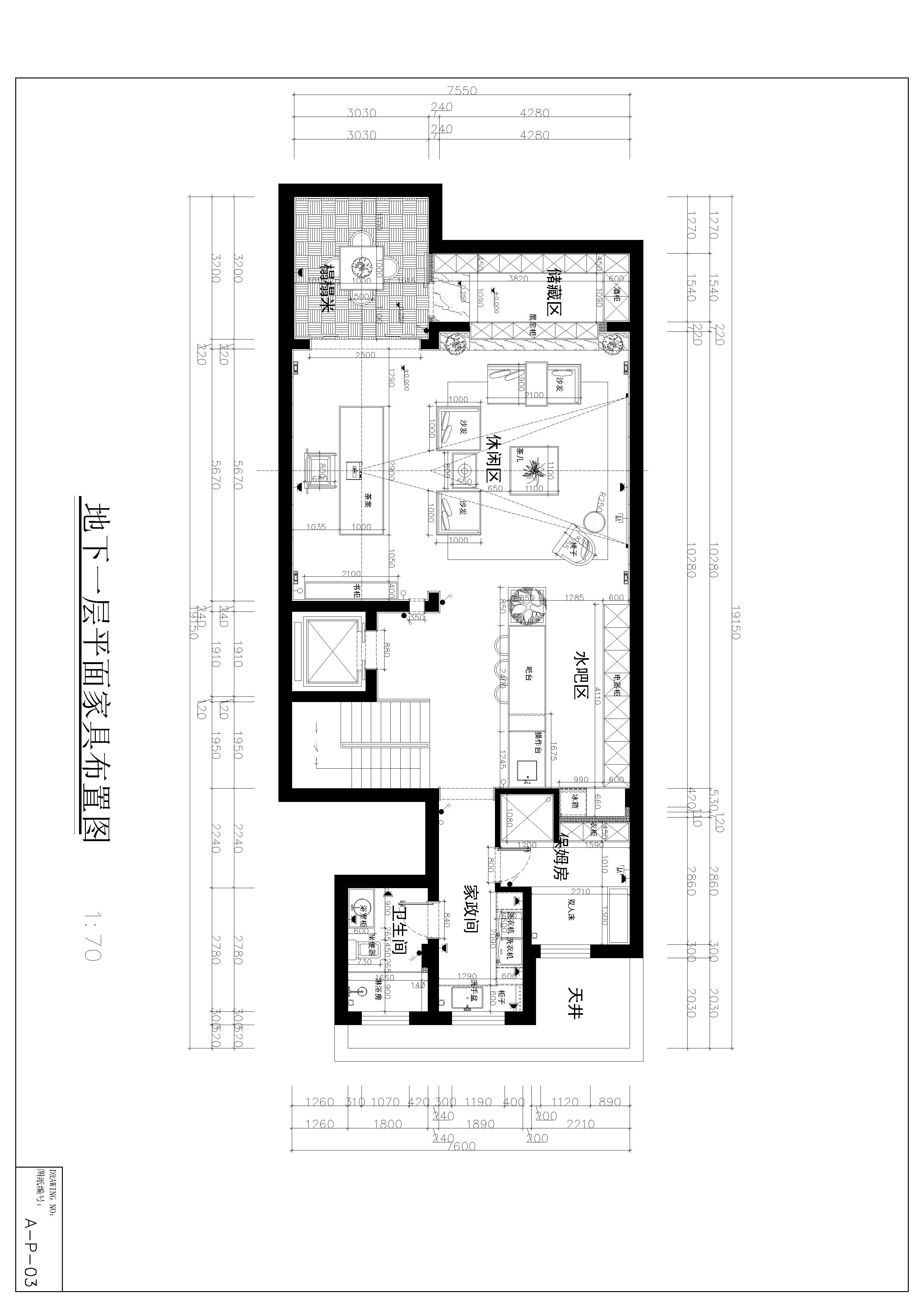 紫禁壹号院500平米现代中式风格装修设计理念
