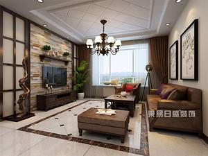 170平米三居室装修效果图,这样的美式设计才别致