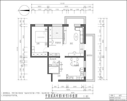 中信城-新中式-160平米装修设计理念